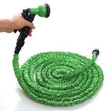 flexible garden hose. 3X Stronger Deluxe 25 FT Expandable Flexible Garden Water Hose W/ Spray Nozzle