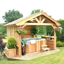 Hot Tub Backyard Ideas Plans Best Inspiration Ideas