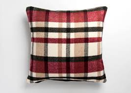 SOFT SKYE TARTAN CHECK CUSHION COVERS IN 17IN X 17IN IN RED 5.99 https:
