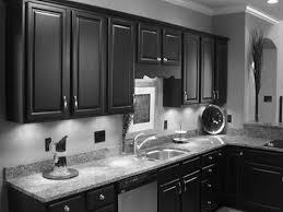 dark kitchen cabinets with grey walls mybktouch with regard to black kitchen cabinet black