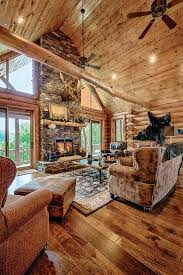 log home interior decorating ideas log cabin interiors mountain