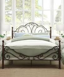 metal bed headboard queen. Contemporary Bed Metro Shop TRIBECCA HOME LeAnn Graceful Scroll Bronze Iron Queensized Bed  This Stylish Queensize Poster Bed Makes A Great Focal Point In Master Or Guest To Metal Headboard Queen I