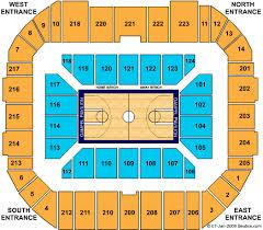 Gampel Pavilion Tickets Gampel Pavilion Seating Chart