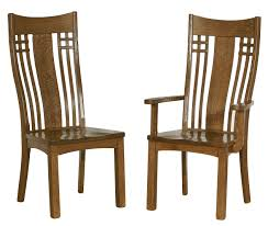 light brown wooden chairs with high back also black seat mission style wood dining chairs