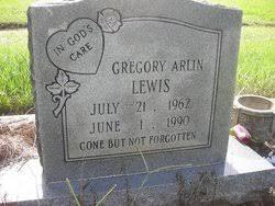 Gregory Arlin Lewis (1962-1990) - Find A Grave Memorial