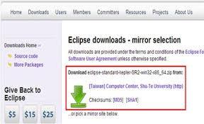 with eclipse selenium tutorial