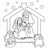 Small Picture Christmas Coloring Pages Free Christmas Coloring Pages for Kids