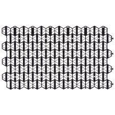 <b>Решётка газонная</b> Gidrolica Eco Standart 70x40x3.2 см цвет черный