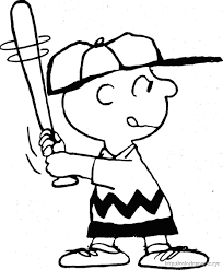 Charlie Brown Christmas Coloring Book Pages | Coloring Pages ...