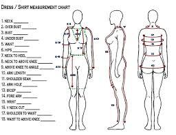 Body Measurement Form Sada Margarethaydon Com