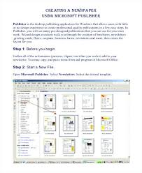 Office Newspaper Template Download Newspaper Template Free Word Documents Top Microsoft 2010