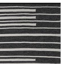 perennials piano stripe indoor outdoor rug swatch 18x18