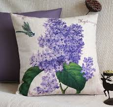 Hydrangea Decorative Pillows