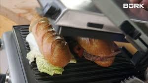 Рецепт сэндвичей на гриле BORK G802 от Григория Конюхова ...