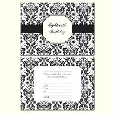 Birthday Party Invitation Card Template Free 18th Birthday Party Invitation Cards Templates Free Template