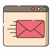 Email Deliver Contact Us Hazel Series By Flat Icons Com