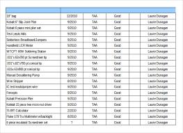 Tools Inventory Form Under Fontanacountryinn Com