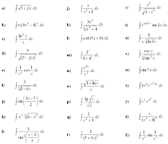 Math Exercises Math Problems Indefinite Integral Of A Function