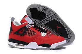 nike shoes red and black. 2016 nike eminem x carhartt air jordan 4 iv mens shoes red black white sneakers and