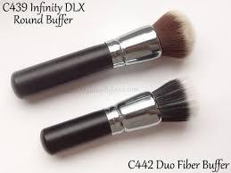 review parison crown brush c442 duo fiber buffer brush c439 round buffer brush