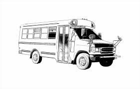 Small Picture Coloring Page Bus Coloring Page Free Printable Pages School For