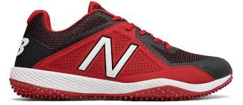 new balance 4040v4. tongue red turf 4040v4 baseball shoes by new balance