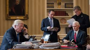 west wing oval office. President Trump Speaks On The Phone With Russian Vladimir Putin In Oval Office West Wing