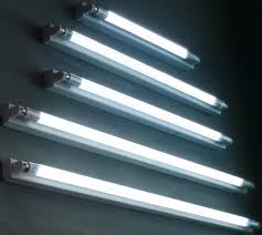 led light fixture 5 set of brightness long cool white light of fluorescent led led
