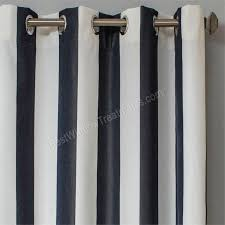sunbrella in classic navy and natural white color fabric by the yard ready sunbrella outdoor curtainsoutdoor