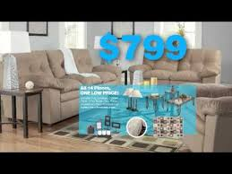 ashley furniture 14 piece 799 sale living room. 14 piece room packages - ashley furniture homestore commercial by toma advertising 799 sale living