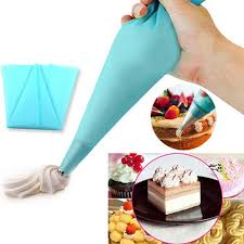 Cake Decorating Accessories Wholesale 100 Wholesale 100 X Confectionery Bag Silicone Icing Piping Cream 17
