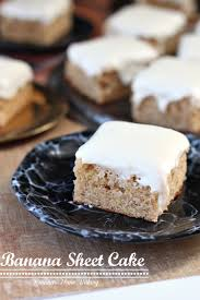 banana sheet cake recipe 5