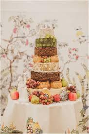 Yum Cheese Wheel Pork Pie And Fruit Cake Stack Fantastic Wedding
