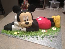 12 coolest mickey mouse cake ideas