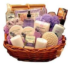 heavenly lavender spa women s birthday holiday or mother s day gift basket