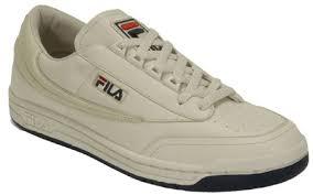 fila men s shoes. fila cream/e. navy/diablo red original tennis mens shoes men s 7