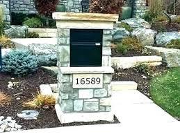 stone mailbox designs. Stone Mailboxes Designs Mailbox R