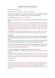 Cover Letter For Journal Submission Springer Fresh Journal