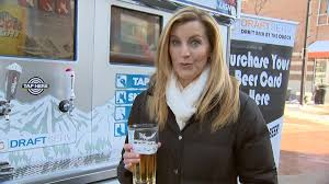 Beer Vending Machine Legal Gorgeous Pittsburgh Inventor's Pouryourownbeer Vending Machine A Big Hit