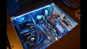 Kingwin Cold Cathode Light White Cold Cathode Light Installation In Desk Pc Lights