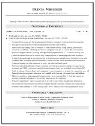 Social Work Resume Goals For Clients Samplebusinessresume Com