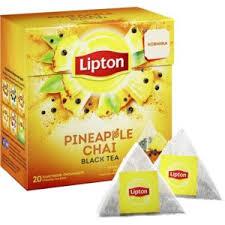 <b>Чай</b> в пирамидках Lipton черный <b>Pineapple</b> Chai с ананасом ...