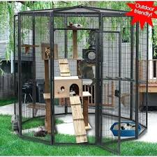 outdoor cat playground cedar triple tower outdoor friendly cat tree condo outdoor cat playground our outdoor