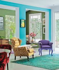 Modern Home Decorating Ideas And Bright Color Combinations Bright Color Home Decor