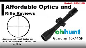 <b>Ohhunt</b> Guardian 10x44 SF review - YouTube
