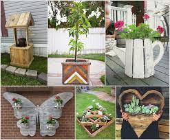 Pallet wood is the most budget friendly form of wood and making things with  it costs almost no money. So, we thought of bringing you some pallet  planters ...