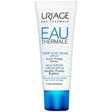 <b>Uriage Eau Thermale Rich</b> Water Cream SPF20   Cosmetify