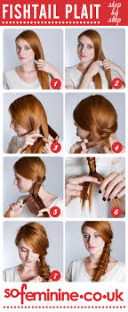 How Todo Hair Style how to do a fishtail plait step by step fishtail braid sofeminine 3935 by wearticles.com