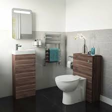 Bathroom Suites Ebay Complete Walnut Cloakroom Bathroom Suite With Btw Toilet And Basin