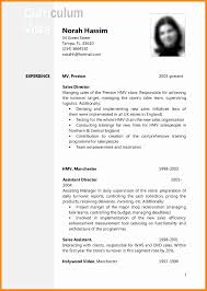 Curriculum Vitae Examples Adorable 48 Curriculum Vitae Example Doc Theorynpractice